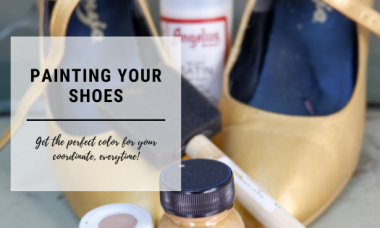 Painting your shoes
